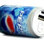 Can shape power banks pepsi