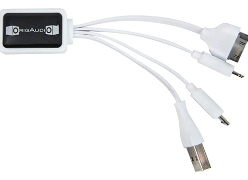 Octo IV charging cable compatible with all power banks