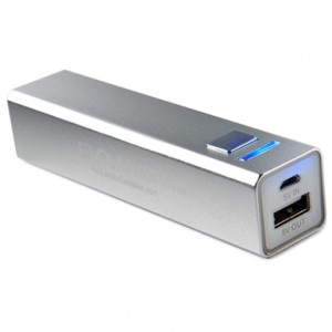 PowerBlock power bank 2600mAh silver