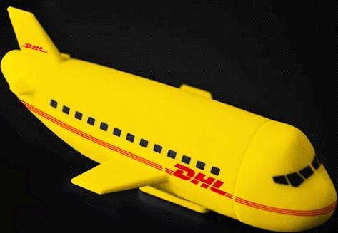 Custom shapes power bank plane